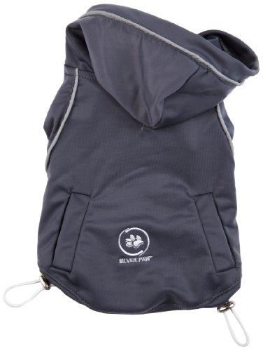silver-paw-anti-odor-plus-anti-bacterial-13-inch-summer-yoga-wear-dog-hoodie-medium-charcoal-grey-mi