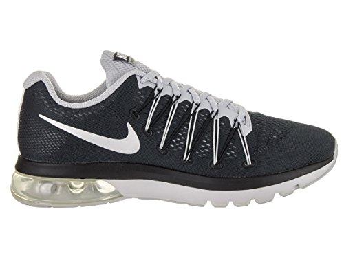 Nike Mens Air Max Excellerate 5 Scarpa Da Corsa Nero / Argento Metallizzato / Grigio Lupo