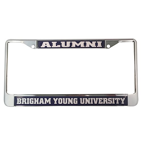 Young Diego (Brigham Young University License Plate Frame/Tag For Front Back of Car Officially Licensed (Alumni - Metal Frame))