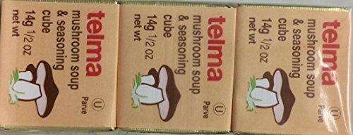 Telma Mushroom Soup & Seasoning 1.5 Oz. Pack Of 3.