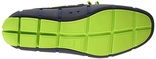 Men's Green Navy Braided Lace Loafers SWIMS vqndHZ4wv