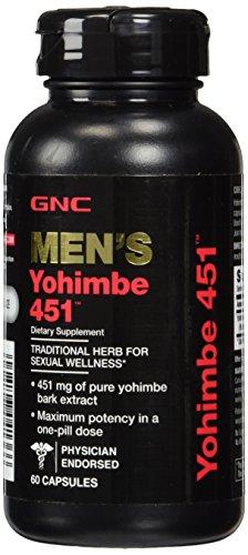 GNC Yohimbe 451 60 caps product image