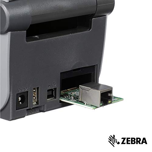 Zebra - Ethernet Module Adapter for ZD410 Direct Thermal Desktop Printer - Field Installable ()