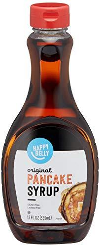 Amazon Brand - Happy Belly Pancake Syrup, Original Flavor, 12 Fl oz (Previously Solimo)