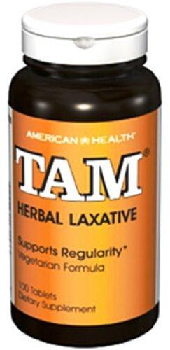 American Health Tam Natural - American Health - TAM Natural Herb Laxative - 100 tablets by American Health