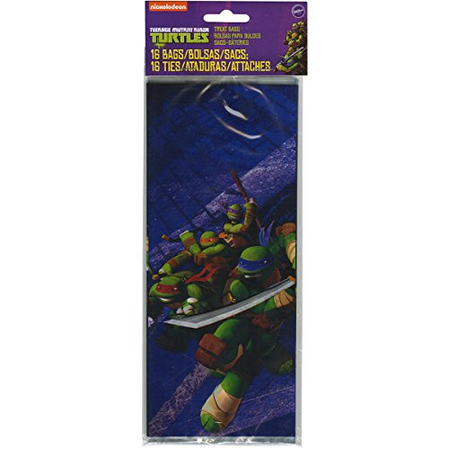 (Wilton 1912-7744 16 Count Teenage Mutant Ninja Turtles Treat)