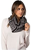 Krochet Kids Infinity Scarf Black London