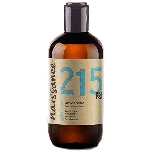 Naissance Sweet Almond Oil (no. 215) 250ml - Pure, Natural, Cruelty Free,...