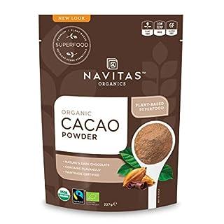 Navitas Organics Cacao Powder, 8oz. Bag - Organic, Non-GMO, Fair Trade, Gluten-Free (B00CEOOZK6) | Amazon price tracker / tracking, Amazon price history charts, Amazon price watches, Amazon price drop alerts