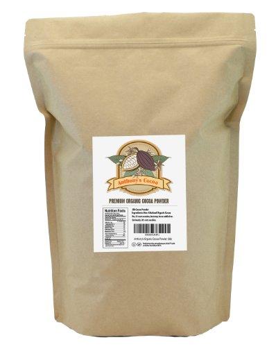 Anthony's Organic Raw Cocoa Powder / Cacao Powder, (Non-Alkalized)