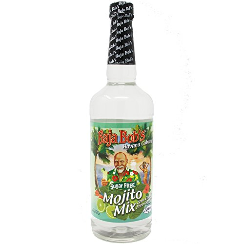 Rum Club Havana (Baja Bob's MOJITO Mix - 32oz - Cocktail Mixer)