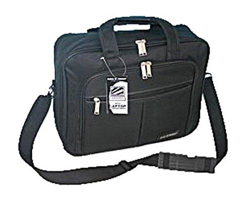 Laptoptasche Überschlagtasche Schultertasche Aktentasche Umhängetasche Messenger schwarz
