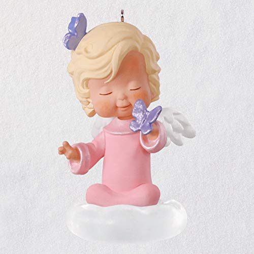 - Hallmark Keepsake Christmas 2019 Year Dated, Mary's Angels Hyacinth Ornament