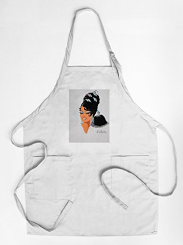 France National Costume Men (Josephine Baker costume design Vintage Poster (artist: Bertaux) France (Quality Cotton/Polyester Chef's Apron))