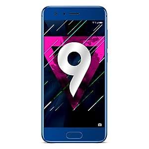 Huawei Honor 9 6GB RAM 64GB ROM 3D Curved Glass OTA Update LTE Smartphone Octa Core 2.3GHz 5.1 Inch 19201080 3200mAh 20MP (Blue)