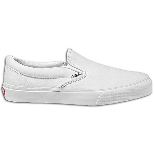 Vans Youth Classic Slip-On Core, White-1 Youth]()