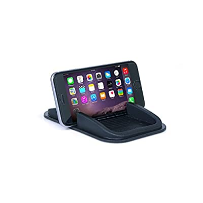 Sticky Pad Roadster Smartphone Dash Mount by Handstands Products- no magnets and no adhesives: Automotive