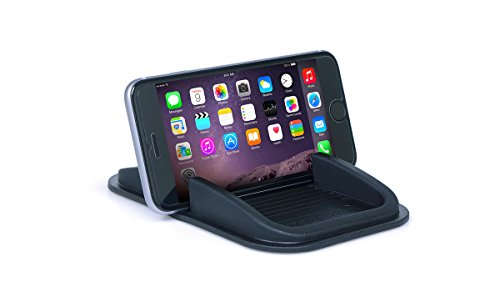 - Sticky Pad Roadster Smartphone Dash Mount by Handstands Products- no magnets and no adhesives