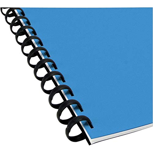 (Swingline GBC ZipBind Spines, 5/16 Inch Length, 45 Sheets, Black, 10 Pk (15032))