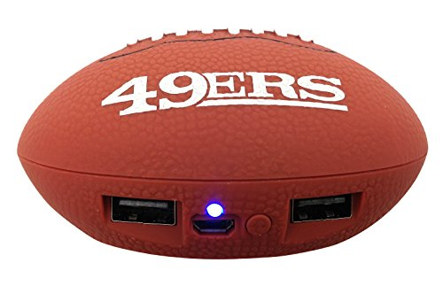 NFL San Francisco 49ers Phone Charger, One Size, Brown