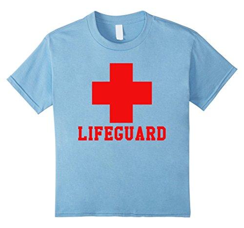 Kids Lifeguard T-Shirt Easy Halloween Costume Idea 4 Baby (Basic Halloween Costumes Ideas)