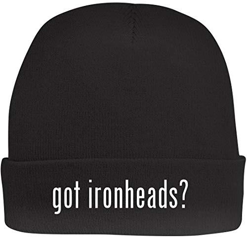 Shirt Me Up got Ironheads? - A Nice Beanie Cap, Black, OSFA (Ironhead Cam)