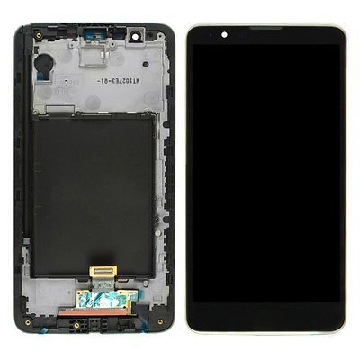 LCD Display Digitizer Touch Screen Assembly for LG G Stylo 2, Stylus 2 LS775 (Black ()