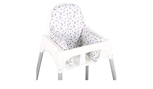 Asiento Cojín revestimiento para Ikea ANTILOP - Gris ...