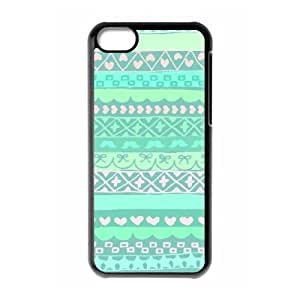 Green Tribal Pattern ZLB556252 DIY Case for Iphone 5C, Iphone 5C Case