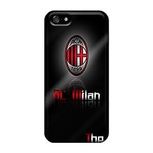 Iphone 5/5s AiA11889lhUr Customized Beautiful Ac Milan Pattern High Quality Hard Cell-phone Case -AlainTanielian