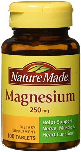 Vitamins & Supplements: Nature Made Magnesium