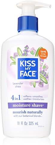 Kiss My Face - Lavender And Shea Moisture Shave, 11 fl oz cream