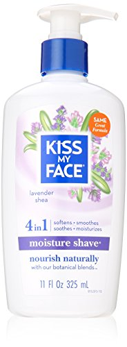 Kiss My Face, Moisture Shave Lavender And Shea, 11 Fl Oz ()