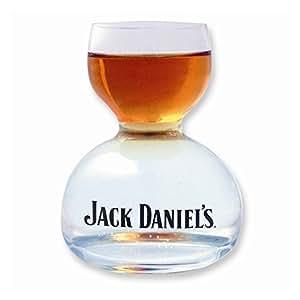 Jack Daniel's Double Bubble Chaser Jigger Shot Glass - 6 Oz