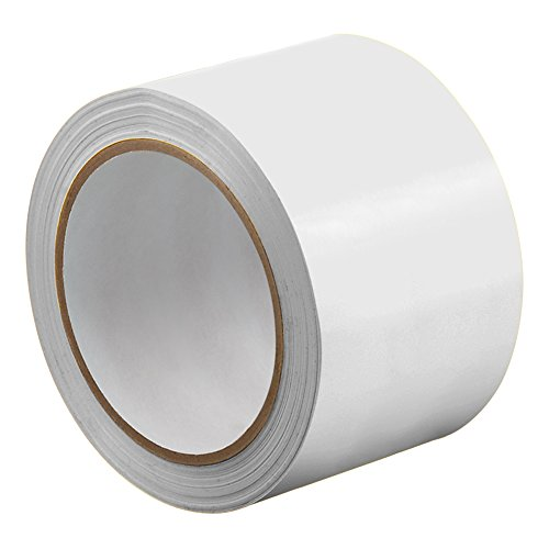 """UPC 888519336571, TapeCase 3-72-414W White UPVC/Rubber Adhesive Film Tape, 0.0023"""" Thick, 72 yd. Length, 3"""" Width, 1 Roll"""