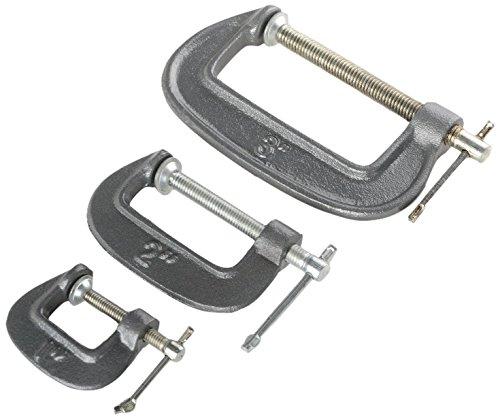 3 Piece C-clamp Set - 8