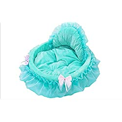 RunHigh Princess Bed Cute Lace Pet Nest