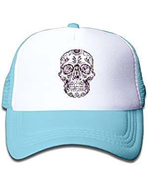 Dreadful Skull Baby Unisex Classic Adjustable Baseball Trucker Hat