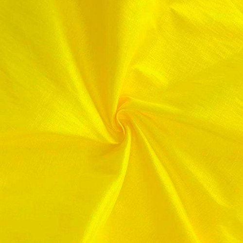 Medium/Light Weight Stretch Taffeta Fabric By The Yard (Yellow ST-1)