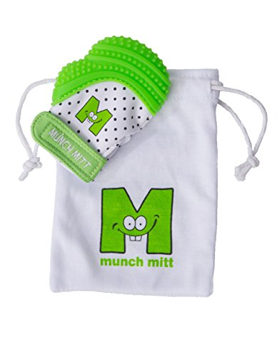 Malarkey Kids Munch Mitt, Green, One Size