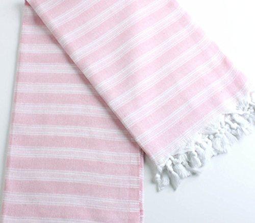 Turkish Fouta Peshtamal for bath,spa,beach,sauna etc. (Pink)