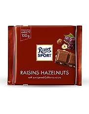 Ritter Sport Raisin & Hazelnut Chocolate Bar