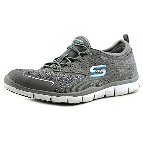 Skechers Gratis haut Soaring Femmes Sneakers gray