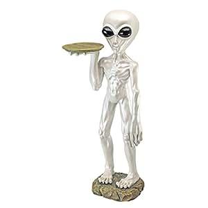 Design Toscano Roswell, the Alien Butler Sculpture