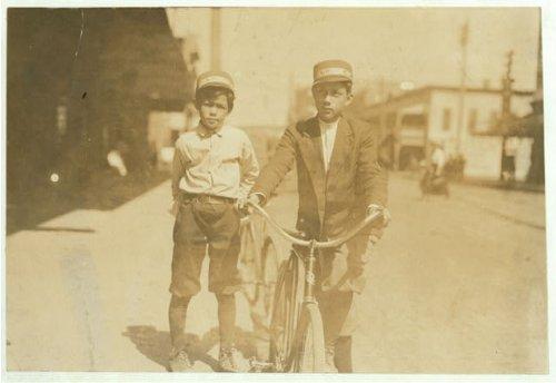 HistoricalFindings Photo: Ben Key,Messenger Boy,Tampa,Florida,Child Labor,Lewis Wickes Hine,March 1911,1