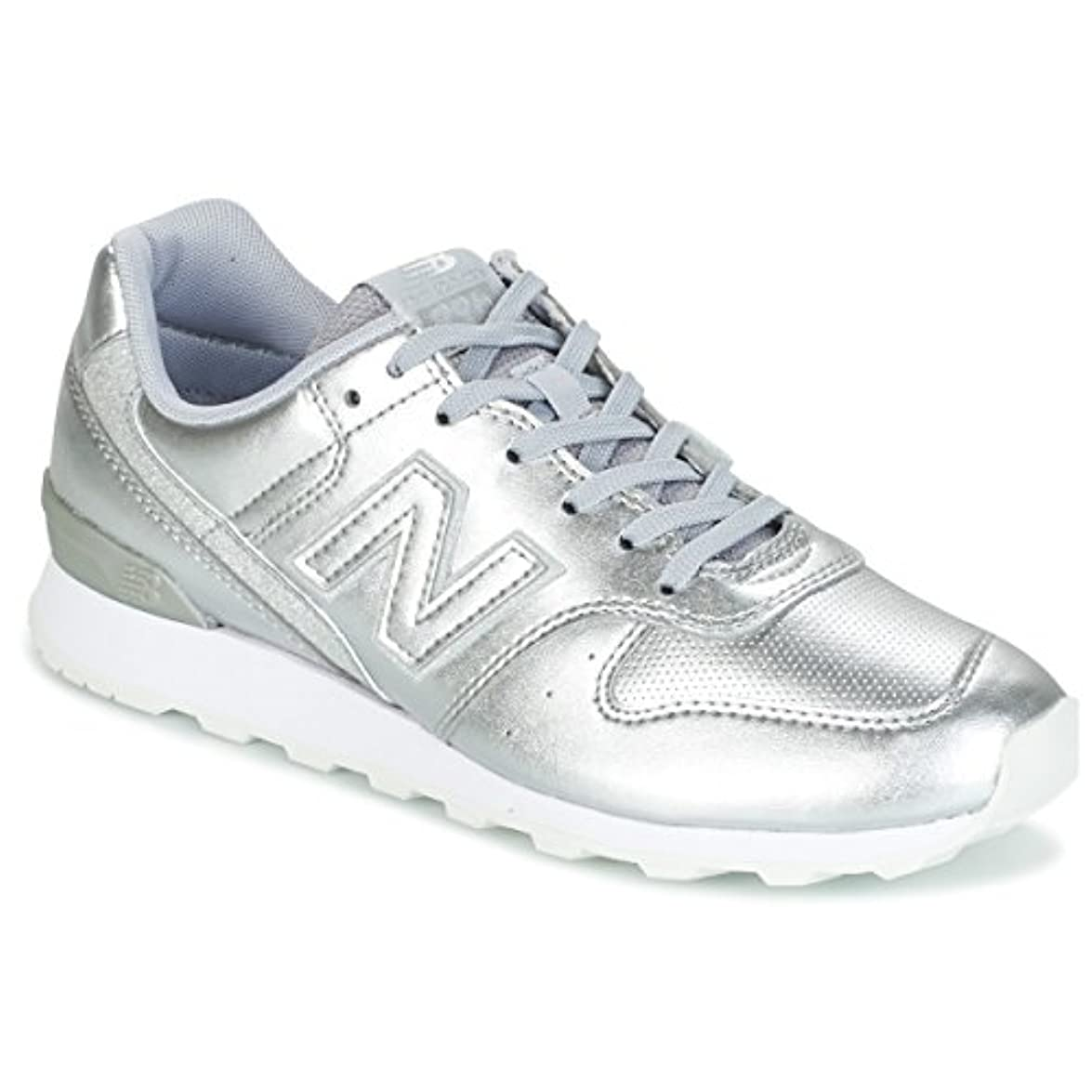 New Balance Wr996 Sneakers Donne Argento Basse