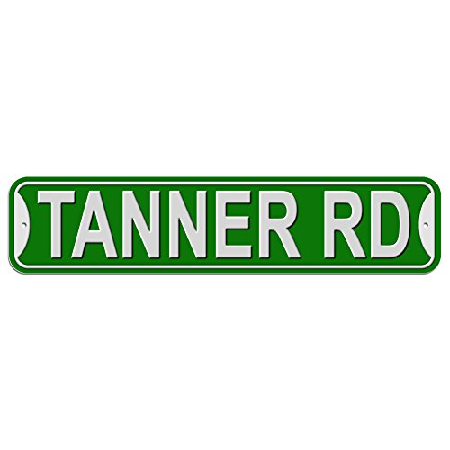 tanner-rd-road-sign-plastic-wall-door-street-road-male-name-green
