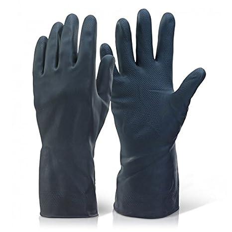 Marigold G17K Travail Gants INDUSTRIEL Protection main Gauntlet chimique ré sistant - Noir, 9.5