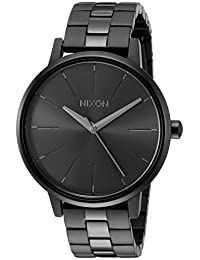 Nixon Women's A099001-00 Kensington Analog Display Japanese Quartz Black Watch