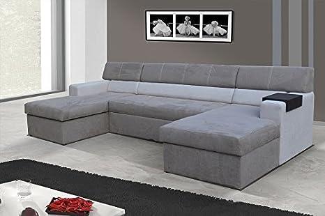 Conjunto de muebles para salón Markos Sofá esquinero Sofá de ...